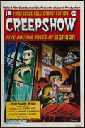 "Movie Posters:Horror, Creepshow (United Film, 1982). One Sheet (27"" X 41"") Advance.Horror.. ..."