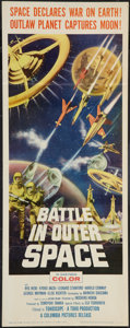 """Movie Posters:Science Fiction, Battle in Outer Space (Columbia, 1960). Insert (14"""" X 36""""). Science Fiction.. ..."""