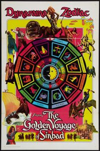 "The Golden Voyage of Sinbad (Columbia, 1973). Special Advance One Sheet (27"" X 41""). Fantasy"