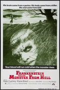 "Movie Posters:Horror, Frankenstein and the Monster from Hell (Paramount, 1974). One Sheet(27"" X 41""). Horror.. ..."