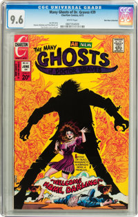 Many Ghosts of Dr. Graves #39 Don Rosa Collection pedigree (Charlton, 1973) CGC NM+ 9.6 White pages