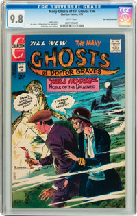 Many Ghosts of Dr. Graves #36 Don Rosa Collection pedigree (Charlton, 1973) CGC NM/MT 9.8 White pages