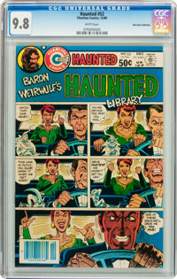 Haunted #52 Don Rosa Collection pedigree (Charlton, 1980) CGC NM/MT 9.8 White pages