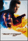"Movie Posters:James Bond, The World is Not Enough (MGM, 1999). One Sheet (27"" X 41"") DS.James Bond.. ..."