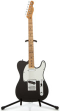 Musical Instruments:Electric Guitars, 1978 Fender Telecaster Black Solid Body Electric Guitar, SerialNumber #S849902....