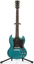 Musical Instruments:Electric Guitars, 2003 Gibson SG Pelham Blue Solid Body Electric Guitar, SerialNumber #03033634....