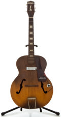 Musical Instruments:Electric Guitars, 1950's Harmony Hollywood Sunburst Archtop Electric Guitar, NoSerial Number...