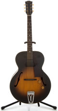 Musical Instruments:Electric Guitars, 1952 Gibson ES-125 Sunburst Archtop Electric Guitar, Serial Number#Z3473 10....