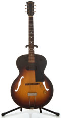 Musical Instruments:Electric Guitars, 1955 Gibson ES-125 Sunburst Semi-Hollow Body Electric Guitar,Serial Number #W370 2....