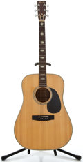 Musical Instruments:Acoustic Guitars, 1970's Terada JW835 Natural Acoustic Guitar, Serial Number #JW835....