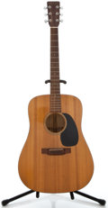 Musical Instruments:Acoustic Guitars, 1988 Martin D-16A Natural Acoustic Guitar, Serial Number #477214....