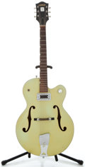 Musical Instruments:Electric Guitars, 1960 Gretsch Anniversary Green Semi-Hollow Body Electric Guitar, Serial Number #38117....