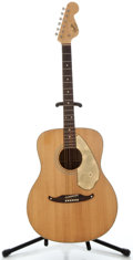 Musical Instruments:Acoustic Guitars, 1960's Fender Concert Natural Acoustic Guitar, Serial Number #05420....