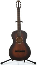 Musical Instruments:Acoustic Guitars, 1930's Oahu Squareneck Mahogany Acoustic Guitar, No Serial Number....