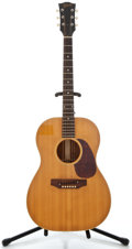 Musical Instruments:Acoustic Guitars, 1960's Gibson B-15N Natural Acoustic Guitar, Serial Number #561919....