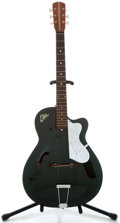 Musical Instruments:Acoustic Guitars, 1960's EKO Mascot Emerald Archtop Acoustic Guitar, No Serial Number....