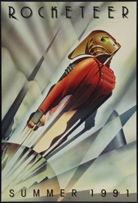 "The Rocketeer (Walt Disney Pictures, 1991). One Sheet (27"" X 40"") DS Advance. Action"