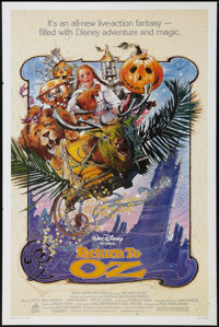 "Return to Oz (Buena Vista, 1985). One Sheet (27"" X 41""). Fantasy"