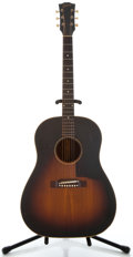 Musical Instruments:Acoustic Guitars, 1958 Gibson J-45 Sunburst Acoustic Guitar, Serial Number#T610827....