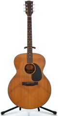 Musical Instruments:Acoustic Guitars, 1970's Gibson J-100 Natural Acoustic Guitar, Serial Number#615068....