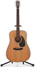 Musical Instruments:Acoustic Guitars, Recent Blueridge BR-40 Natural Acoustic Guitar, Serial Number #02113436....