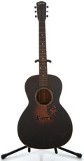 Musical Instruments:Acoustic Guitars, 1930's Gibson L-00 Sunburst Acoustic Guitar, Serial Number #915....