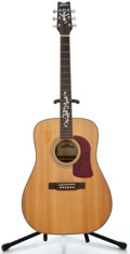 Musical Instruments:Acoustic Guitars, 1995 Washburn D95LTD Natural Acoustic Guitar, Serial Number #1309....