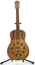 Musical Instruments:Resonator Guitars, 1930's National Triolian Resonator Guitar, No Serial Number....