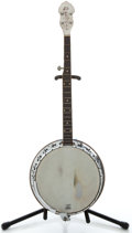 Musical Instruments:Banjos, Mandolins, & Ukes, 1960's Bacon & Day Seniorita MOTS 5 String Banjo, Serial Number #58126....