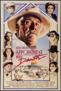 """Appointment with Death & Others Lot (Cannon, 1988). One Sheets (3) (27"""" X 40"""" & 27"""" X 41&..."""