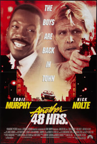 "Another 48 Hrs. & Other Lot (Paramount, 1990). One Sheets (2) (27"" X 40"" & 27"" X 41""..."