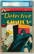 Golden Age (1938-1955):Superhero, Detective Comics #44 (DC, 1940) CGC VG+ 4.5 Cream to off-white pages....