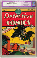 Golden Age (1938-1955):Superhero, Detective Comics #27 (DC, 1939) CGC Apparent VF- 7.5 Moderate (P) Off-white pages....