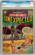 Silver Age (1956-1969):Science Fiction, Tales of the Unexpected #1 (DC, 1956) CGC FN+ 6.5 Cream tooff-white pages....