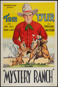"Movie Posters:Western, Mystery Ranch (Bernard Ray, R-Late 1930s). Stock One Sheet (27"" X41""). Western.. ..."