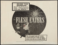 "The Flesh Eaters (Cinema Distributors of America, 1964). Half Sheet (22"" X 28""). Horror"