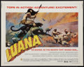 "Movie Posters:Adventure, Luana (Capital Productions, 1973). Half Sheet (22"" X 28"").Adventure.. ..."