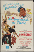 """Movie Posters:Musical, An American in Paris (MGM, 1951). One Sheet (27"""" X 41""""). Musical....."""