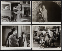 "Robert Donat and Madeleine Carroll in ""The 39 Steps"" (Gaumont, 1935). Photos (8) (8"" X 10""). Hitchco..."
