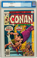 Bronze Age (1970-1979):Miscellaneous, Conan the Barbarian #76 (Marvel, 1977) CGC NM 9.4 White pages....
