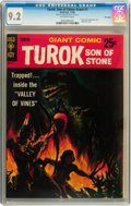 Silver Age (1956-1969):Adventure, Turok, Son of Stone Giant #1 File Copy (Gold Key, 1966) CGC NM- 9.2 Off-white pages....