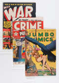 Golden Age (1938-1955):Miscellaneous, Comic Books -- Assorted Golden Age Comics Group (Various, 1940s-'50s) Condition: Average VG.... (Total: 18 Comic Books)