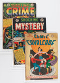 Golden Age (1938-1955):Miscellaneous, Comic Books - Assorted Golden Age Comics Group (Various, 1940s-'50s) Condition: Average FR/GD.... (Total: 20 Comic Books)