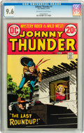 Bronze Age (1970-1979):Western, Johnny Thunder #1 (DC, 1973) CGC NM+ 9.6 Off-white to white pages....