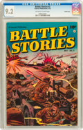 Golden Age (1938-1955):War, Battle Stories #3 Crowley Copy pedigree (Fawcett, 1952) CGC NM- 9.2Off-white to white pages....
