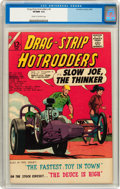 Silver Age (1956-1969):Adventure, Drag-Strip Hotrodders #4 (Charlton, 1965) CGC VF/NM 9.0 Cream to off-white pages....