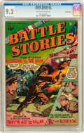 Golden Age (1938-1955):War, Battle Stories #5 Crowley Copy pedigree (Fawcett, 1952) CGC NM- 9.2Off-white to white pages....