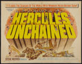 "Movie Posters:Action, Hercules Unchained and Other Lot (Warner Brothers, 1959). HalfSheets (2) (22"" X 28""). Action.. ... (Total: 2 Items)"