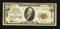 National Bank Notes:Virginia, Charlottesville, VA - $10 1929 Ty. 2 The Peoples NB Ch. # 2594. ...