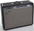 Musical Instruments:Amplifiers, PA, & Effects, Fender Twin Reverb Reissue Black Guitar Amplifier, Serial Number#AC041252....